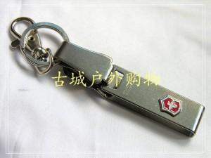 Victorinox瑞士军刀-不锈钢皮带挂钩/钥匙扣4.1858