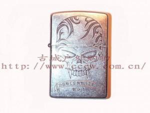 ZIPPO火机-日韩系列之鬼魅骷髅(33470) 05年老款收藏