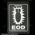 RESCUER拯救者EOD拆弹魔术贴章黑色5 泥色6 绿色17