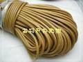 直径4mm 纯正黄牛皮绳,弹性吸汗性能超伞绳一米