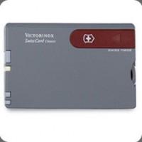 Victorinox维氏-瑞士军刀卡(灰/红)0.7106