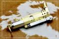 JIFENG季风新款复古铜油壶燃油铜防风打火机套装JF-027
