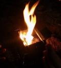 campingmoon_MT-140不锈钢柴火炉微型明火炉单兵炉具