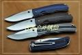三刃木2014巨献-9系双滚珠锁钢本色G10柄9055MUC