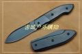 三刃木新款-酸枝木线锁凹磨黑钛折刀7028LUI三款可选