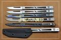 MG新品N690钢一体式战术手术刀