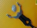 梨尘精品系列-快乐隼1.0精铸不锈钢卡球弹弓