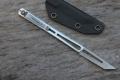 MG新品S35VN粉末钢一体式战术手术刀几何头II代