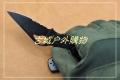 蜘蛛代工BYRD小鸟BY-04全钢黑钛背锁折刀