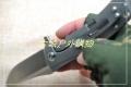 特价-山猪作亚特兰大获奖Horizon-Ti地平线双面钛轴承快开钢锁D2折刀