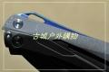 特价-双面钛合金霸天虎D2石洗轴承快开变形金刚战术折