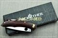 新款木柄Brother兄弟牌1501Dorado剑鱼背锁折刀
