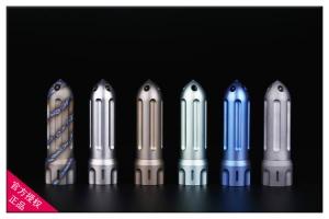 香港MG-火箭钛合金破窗器防水仓胶囊密封盒防水盒药品盒牙签盒