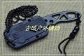 三刃木新品-塑鞘带手电项链刀4101FUI-SH小直刀