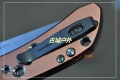 三刃木固定销式12c27钢水果刀9165(三色)