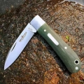 兄弟牌Brother1510碳素纤维柄VG-10钢折刀口袋刀